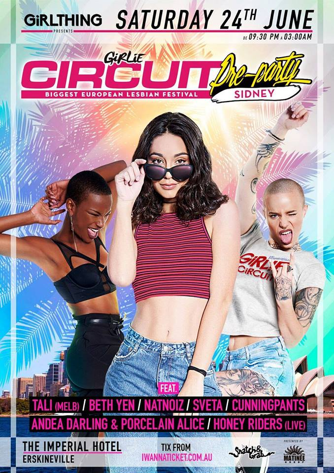 girlie-circuit-sidney-party-group-matinee